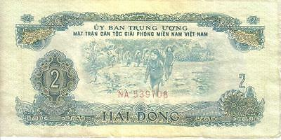 Vietnam South, 2 Dong, P#r5, Nd(1963)