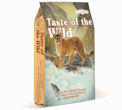 Taste of the Wild Canyon River Dry Cat Food Trout & Salmon Grain Free 2kg