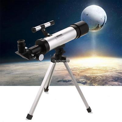 Refractor 60X Space Astronomical Telescope Spotting Scopes w/ Phone Holder