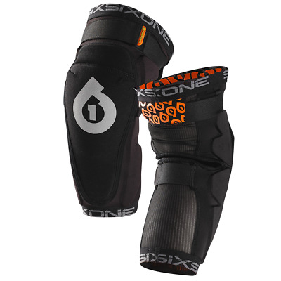 661 Rage Knee Black, Small