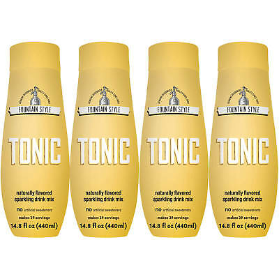 SodaStream Fountain Style Tonic Sparkling Drink Mix, 440mL NEW FREE SHIP NO TAX