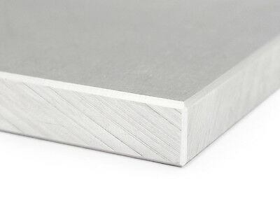 Aluminium Plates 10mm, 200mm wide, Chamfered (58,00 eur. / M+ 2,00 Working)