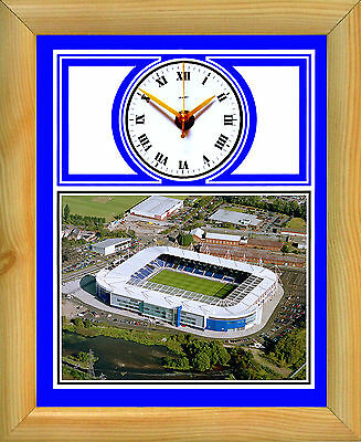 Football Clock Leicester City The Foxes Walkers King Power Stadium