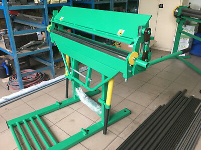 "Sheet Metal Folder Bender Bending Machine 1200mm (47.2"")/ 2mm- price excl. VAT"