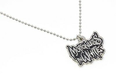 Motionless in White Metal Pendant with Chain Ball Necklace