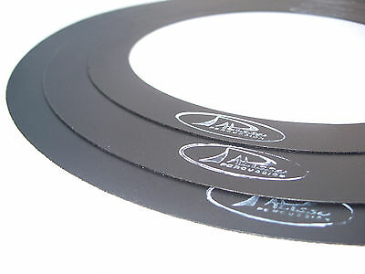 """FLO-RINGS drums Mufflers, Mutes, Sound control dampening ring  8"""" 12"""" 16"""" 14""""snr"""