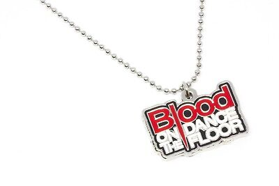 Blood on the Dance Floor Metal Pendant with Chain Ball Necklace