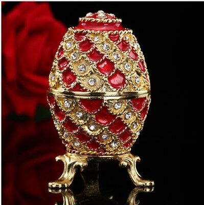 Russian Faberge Egg house Ornaments Easter Home Decor