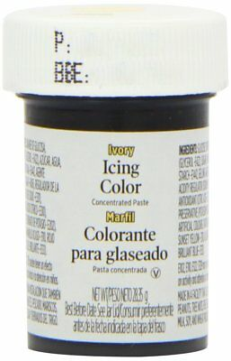 Wilton Icing Colour Gel Paste for Cake & Cupcake Decorating - Ivory