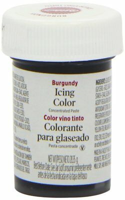 Wilton Icing Colour Gel Paste for Cake & Cupcake Decorating - Burgundy Red