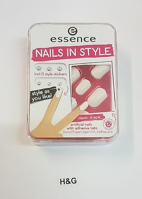 essence Nails In Style The White It-Piece Kunstnägel