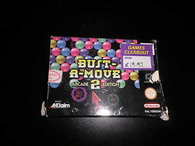 n64 -  bust a move 2  - empty box only