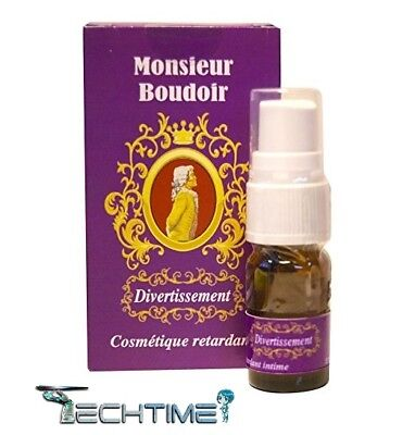 Spray Uomo Ritardante Monsieur Boudoir 5Ml No Tauro