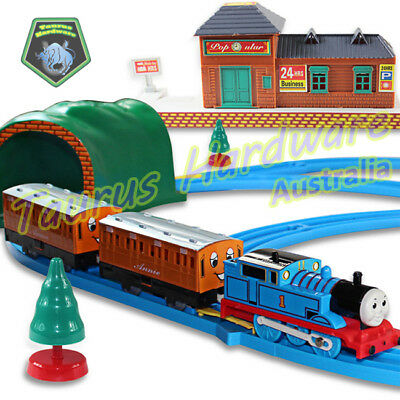 Electric Thomas And Friends Style Train Track Set Christmas Toy Train Kids Gift
