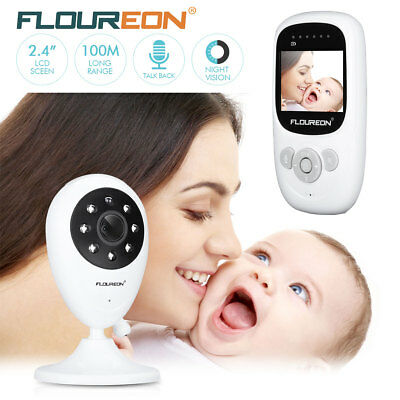 LCD Baby Video Audio Monitor drahtlos Babyphone mit Kamera Babyviewer Nachtsicht