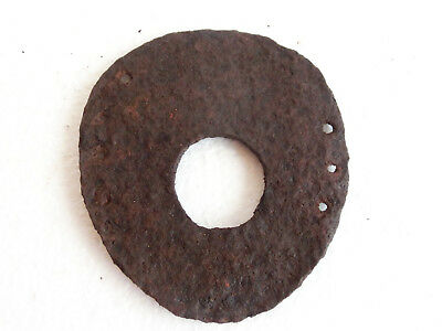 MUSEUM QUALITY Roman Period HUGE Iron HORSE SHOE ~ 100 - 200 AD