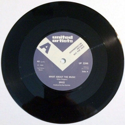 """Spice - What About The Music / In Love 7"""" Psych / Freak repro"""