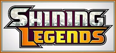 XY SHINING LEGENDS Booster Code Cards INSTANT DELIVERY ~ Pokemon Online Codes