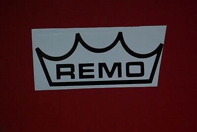 Remo Drum Logo Decal/Sticker choice of colours