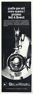 Publicite  Camera Projectreur Bell & Howell  Cinema Film  Ad  1967  * 3F