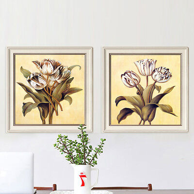 NEW Arrival Modern Wall Art with PS frame size 60x60cm 2 Pieces
