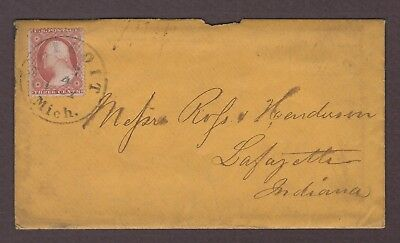 mjstampshobby 1861 US Vintage Cover with Letter Used (Lot4752)