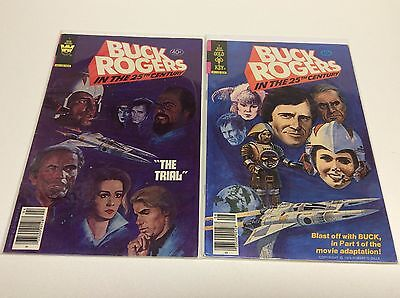 Buck Rodgers #2, #7 (Gold Key/tv Show/movie Adaptation/1114308) Set Lot Of 2