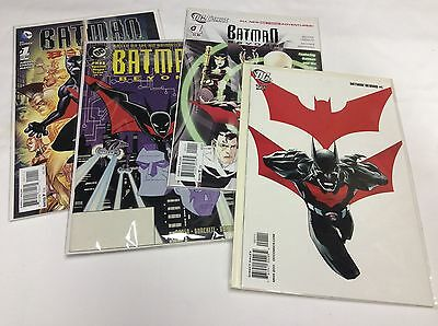 Batman Beyond #1 Set (Dc 2015/unlimited/wb/08158) Comic Book Set Lot Of 4