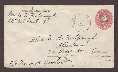 mjstampshobby 1903 US Vintage Cover Used (Lot4800)