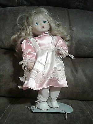 Small porcilean doll Vintage Doll