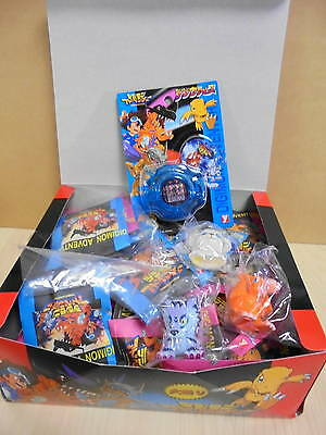 Lot of 40 Rare Yutaka 1999 DIGIMON ADVENTURE mini clear Figure  draw lots