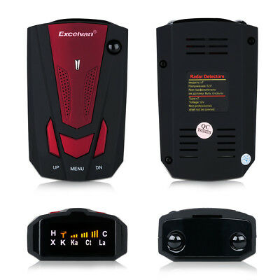 LED Full 16 Band 360 Degree Car GPS Safe Radar Detector Camera Voice Alert Laser