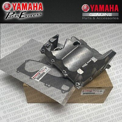 New 2006 - 2016 Yamaha Yzf-R6 Yzfr6 Genuine Oem Oil Pan W/ Gasket Strainer Cover