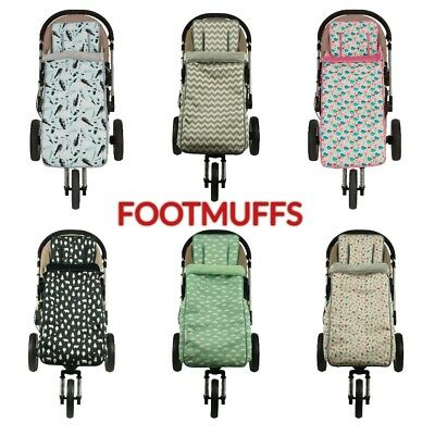 TODDLER FOOTMUFF SET (9 Mths to 3 Years) + FREE Harness ---> by KEEP ME COSY