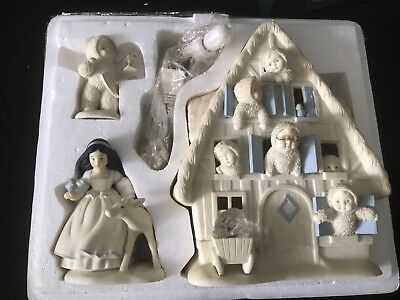Snowbabies Department 56 Large Retired Limited Edition COA Disney Snow White