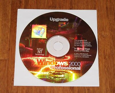 Windows 2000 Professional Upgrade installation disk with Product Key