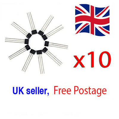 10x A3144 3144E OH3144E Hall Effect Sensors UK Seller