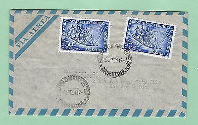 mjstampshobby 1954 Argentina Antarctica Cover Used (Lot2408)