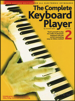 The Complete Keyboard Player Book 2 Learn How to Play Method