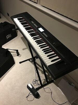 Yamaha Piaggero NPV-80 + Professional Bag + Stagg Stand + Sustain Pedal