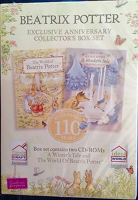 Crafters Companion Beatrix Potter 2 Disc Exclusive Anniversary Collectors Set