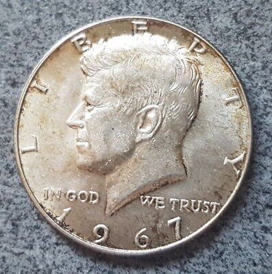 United States Half Dollar 1967 FREE POST