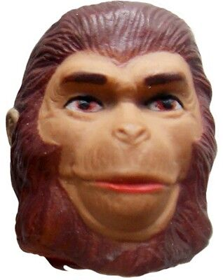 """1974 PLANET OF THE APES 8"""" mego scifi doll -- ZIRA -- HEAD w Medium Brown Hair"""