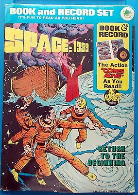 """1976 SPACE 1999 """"sealed"""" COMIC BOOK & RECORD SET - Return to the Beginning"""