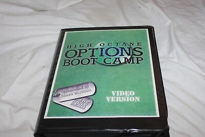 Steve Wirrick - High Octane Options Bootcamp Investment Course Manual and 11 VCD