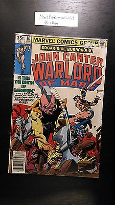 John Carter, Warlord of Mars - # 10 Comic Book - Includes Bag/Board - Fine