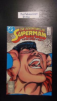 The Adventures of Superman - # 438 1988 Series Comic Book - Includes Bag/Board