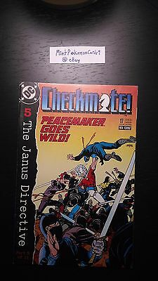 Checkmate! - # 17 1988 Series DC Comic Book - Includes Bag/Board
