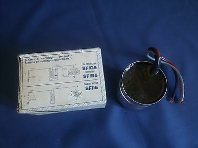 Filtro ANTIDISTURBO Auto ALPHA ELETTRONICA - Nuovo Suppressing CAR Vintage NOS