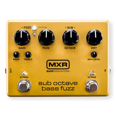 MXR M287 Sub Octave Bass Fuzz Effects Pedal (NEW)